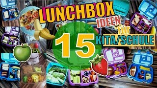 ⭐ FOOD DIARY for Kids ⭐ Ernährung für die KITA ❌ 15 Lunchbox Ideen Brotdosen Ideen Bentgobox Ideas