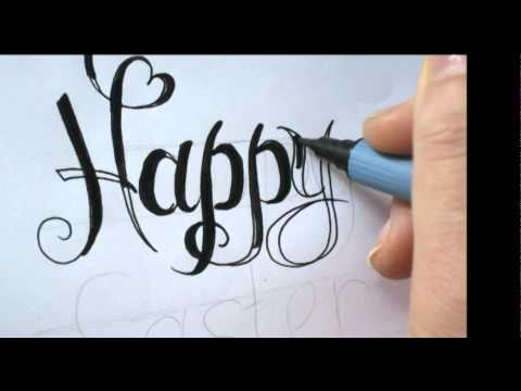Styles Of Calligraphy Writing