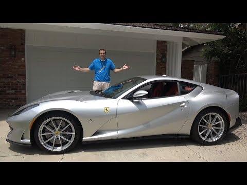 Ferrari представила новый суперкар 812 Superfast