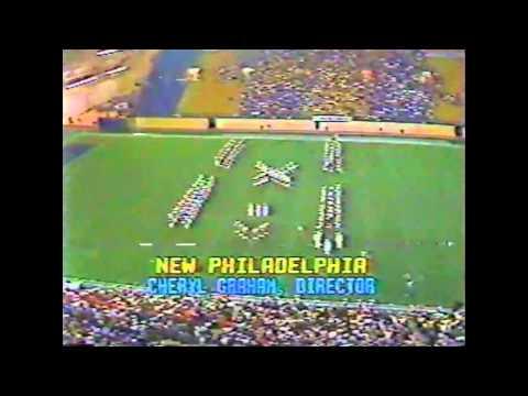 1983 audio cassette recording of New Philadelphia High School Band & Military Band