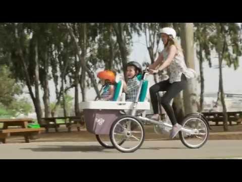 Велосипед коляска для современных родителей