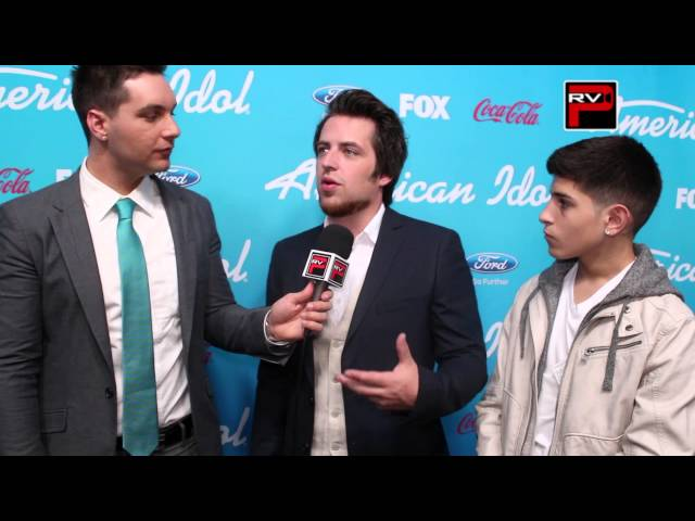 Chris Trondsen & Nick Mara talks to Lee DeWyze at American Idol