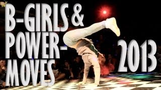 World's Best Bgirls Powermoves