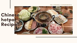 How to make Chinese hot pot (spicy & plain 2-in-1)