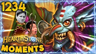 Griftah AKA The Ultimate TROLL CARD!! | Hearthstone Daily Moments Ep.1234