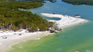 Aerial Video of Barefoot Beach Preserve in Naples, FL
