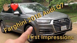 Farghini 2018 Audi Q7 Quattro 2.0 Turbo First Impressions