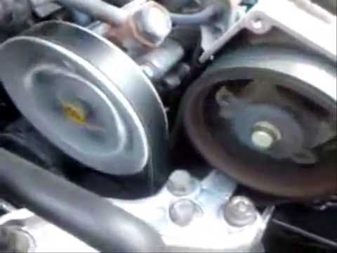 Hyundai 2.7 V6 Motor - Timing Belt Exposed