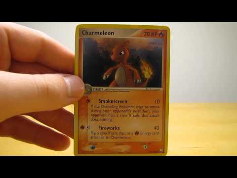 Charmeleon and Charmander Secret Rare Pokemon Cards (BCBM)