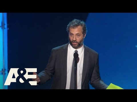 Judd Apatow Introduces MVP Winner Amy Schumer | 2016 Critics' Choice Awards | A&E