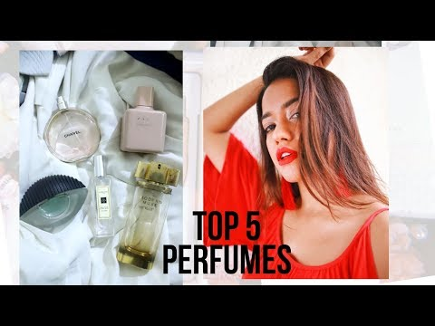 My Top 5 Perfumes #DEBTEMBER DAY 12