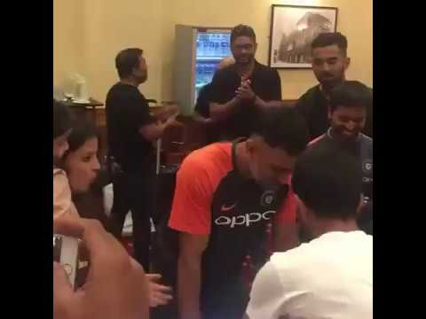 Dhoni Birthday Celebration Full Video!!!