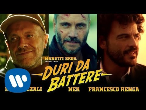 Max Pezzali feat. Nek e Francesco Renga – Duri da battere (Official video diretto dai Manetti Bros.)