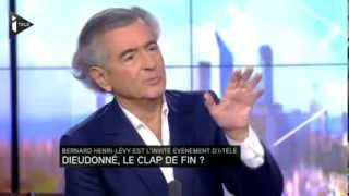Bernard Henri Levy veut censurer Youtube et dailymotion cause dieudonné
