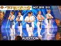 Blue Tokyo Dance Group AMAZING DANCE  America's Got Talent 2018 Audition AGT