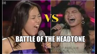 So Hyang VS Jonalyn - Battle Of The Headtone