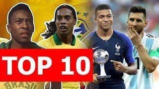 Top 10 quốc gia có chất lượng cầu thủ tốt nhất thế giới