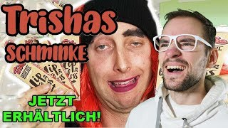 TRISHAS EIGENE SCHMINKE !!! | Freshtorge | REACTION
