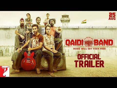 Qaidi Band | Official Trailer | Aadar Jain | Anya Singh | In Cinemas Now
