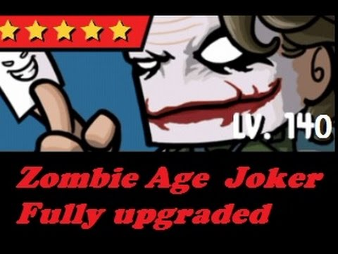 Zombie Age 3 !! JOKER !! fully upgraded everything unlocked