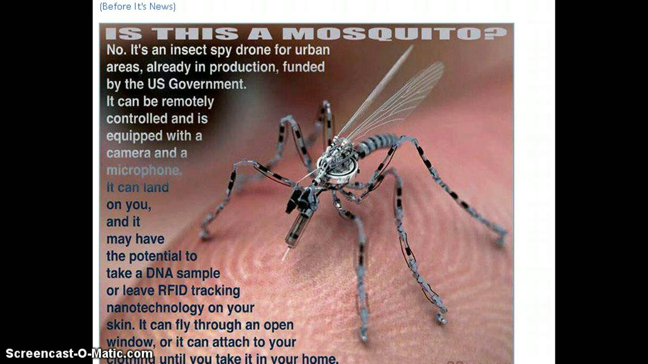 MOSQUITO INSECT DRONE FOR URBAN AREAS? - YouTube