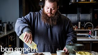 Action Bronson Teaches a Vogue Editor How to Cook