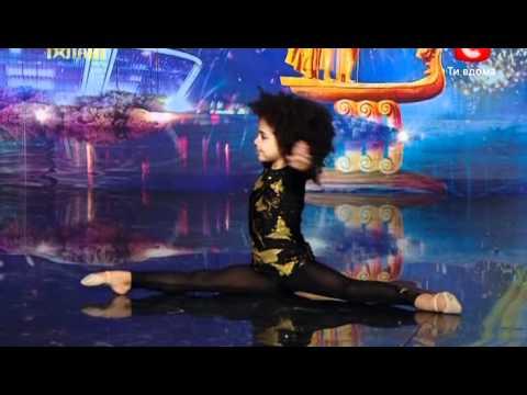 5-летняя гимнастка Эмили Москаленко