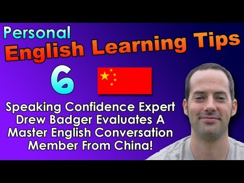 English Speaking & Fluency Tips 6 – English Pronunciation Tips for Chinese Speakers