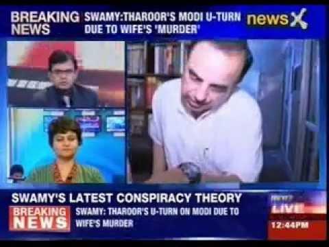 Subramanian Swamy calls Sunanda Pushkar's death a 'murder'