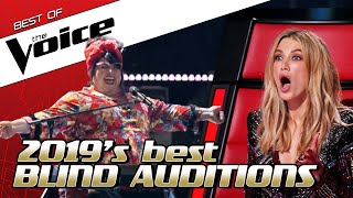 TOP 10 | The BEST Blind Auditions of 2019 in The Voice