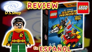 LEGO Super Heroes Robin Vs Bane Set 76062 Review Mighty Micros