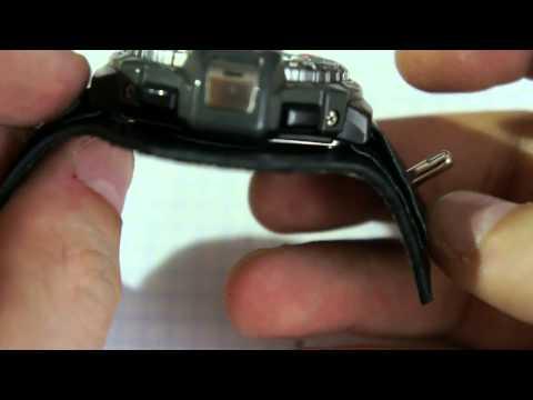 Делаем кастомный ремешок для часов Casio Pro Trek PRT-70