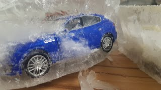 Toy Cars Getting Frozen and Unfrozen | Video for Kids Dlan's Toys