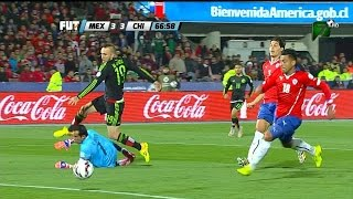 CHILE VS MEXICO 3 -  3 Copa America Chile 2015  15 JUN 2015 Resumen