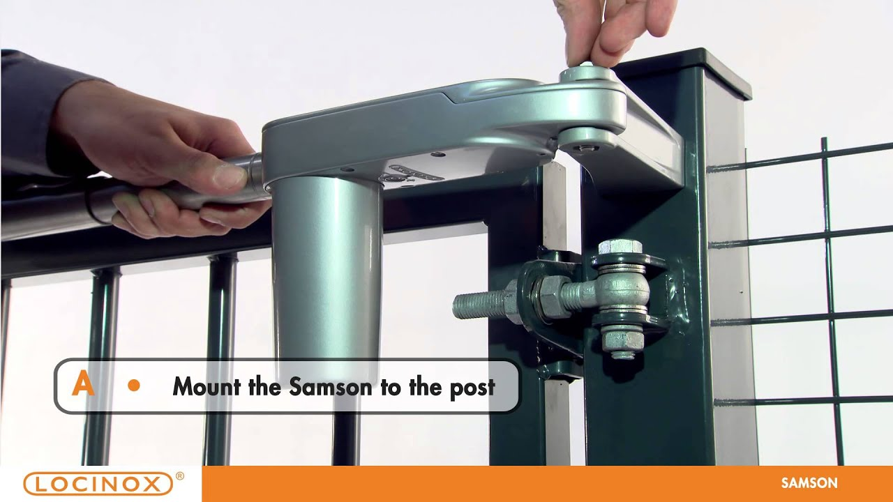 Locinox Samson Adjustable Gate Closer Youtube