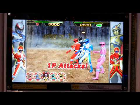 Power Rangers Card Battle - Samurai Gameplay