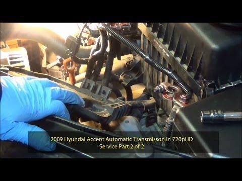 2008 Hyundai Elantra Transmission Service Flush Torque