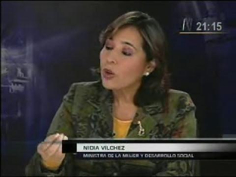 Entrevista a Nidia Vilchez, 1ra parte (Ministra de la Mujer y el Desarrollo Social)