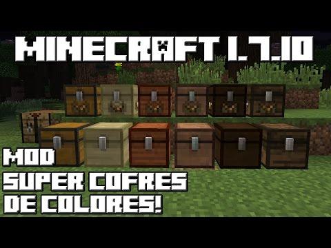 Minecraft 1.7.10 MOD SUPER COFRES DE COLORES