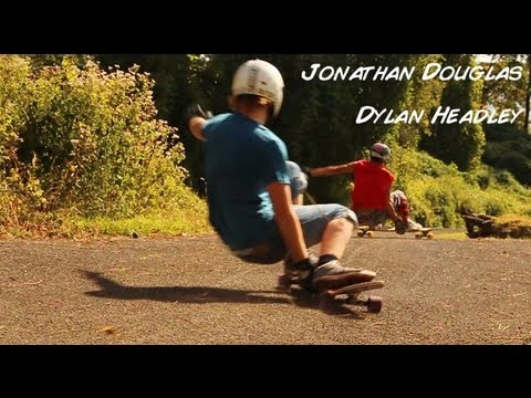 Jonathan Douglas and Dylan Headley - Nelson Longboards