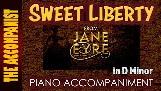 Sweet Liberty From The Musical 39 Jane Eyre 39 Piano Accompaniment Karaoke