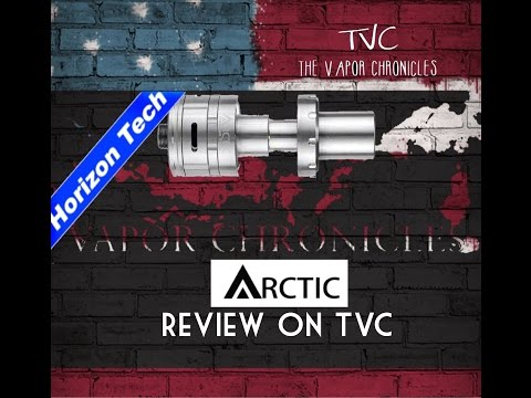 Arctic Sub ohm Tank From Horizon Tech Review On TVC