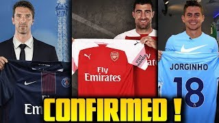 CONFIRMED TRANSFER NEWS & RUMOURS Summer Transfer Window 2018 ft Sokratis Buffon Jorginho