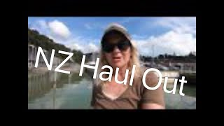 Sailing New Zealand, Trampoline and Haul Out, Ep 56, Off the Starboard Hull