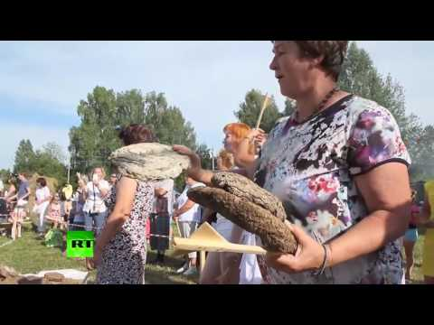 Meanwhile In Russia: Cow dung throwing festival in the Urals