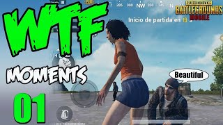 PUBG MOBILE WTF - FUNNY MOMENTS 1 ©