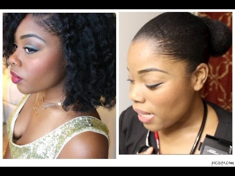 How To Slick Down Natural Hair Edges