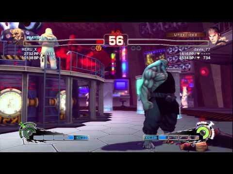 Gouken(HERU_X) VS Ryu(davis_77)