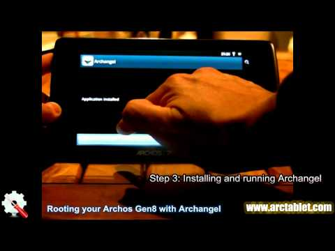 One-click root on Archos 101.70.43.32 and 28 Internet Tablet with Archangel application