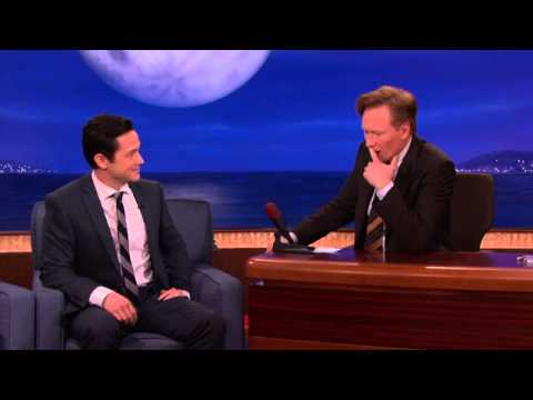 Joseph Gordon Levitt Torture Tests Conan's Coffee Table